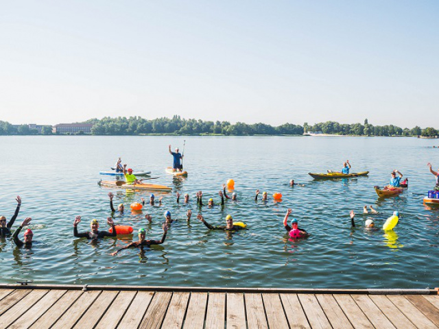 Banter-See-Schwimmen - Teil 2