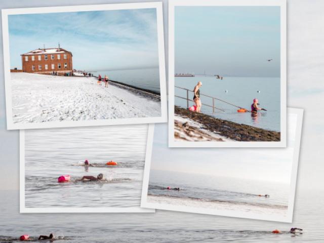 Vom Warmduscher zum Eisschwimmer